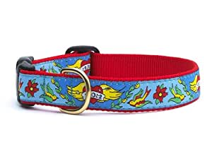 "Amazon.com : Up Country Tatoo Mom Small (9-15""); 1"" Wide Dog Collar"