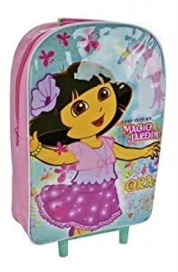 Dora the Explorer - Magic Design! Wheeled Bag / Trolley Bag / from A CHARACTER SHOP