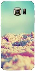 Snoogg Beach Sands Case Cover For Samsung Galaxy S Iiiiii Edge / S6 Edge