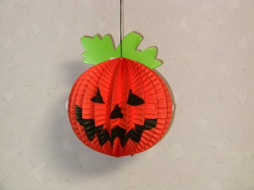 Halloween paper ornament Jack-o'-Lantern, Bat, Spider - 1