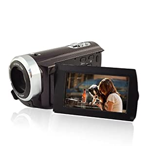 """3.0"""" LCD Touch Screen 1080P Full HD DV Camera 16x Zoom Camcorder 270°Rotation"""