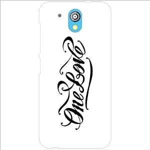 HTC Desire 526G Plus - Lazer Print One Love Designer Cases
