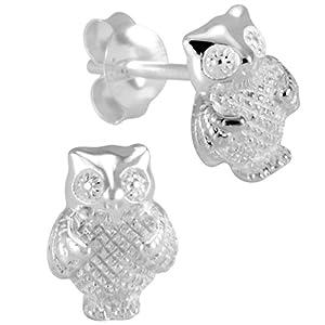 Vinani Jewelry - OEU - Boucles d'Oreille Femme - Argent 925/1000