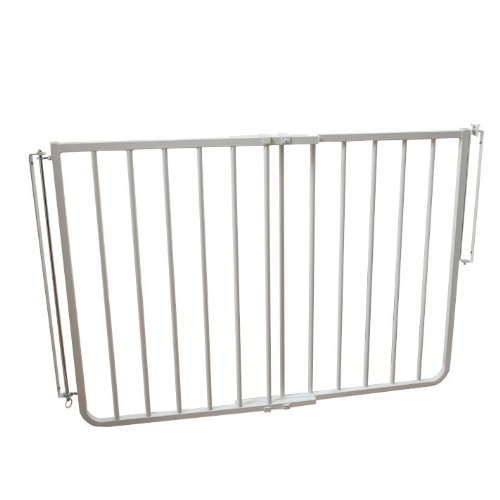 Cardinal Gates Stairway Special Outdoor Gate - SS-30OD - White - 27 to 42.5""