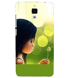 PRINTSHOPPII GIRLY Back Case Cover for Xiaomi Redmi Mi4::Xiaomi Mi 4