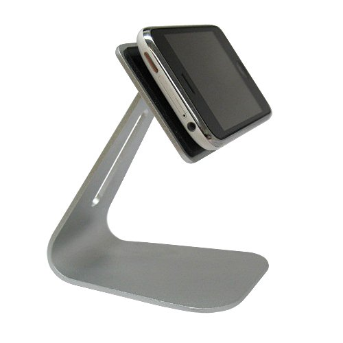 Fashion Design Aluminum Mobile Phone Stand Desktop Phone Holder with Swarovski Crystals for Apple iPhone 3G 3GS iPhone 4