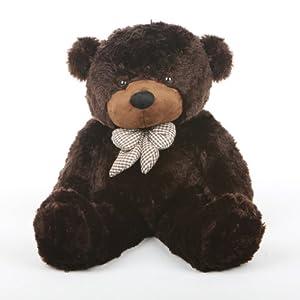 """Brownie Cuddles - 30"""" - Irresistibly Cute & Extra Soft, Chocolate Brown, Plush Teddy Bear By Giant Teddy"""