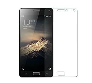 SNOOGG Pack 10 Lenovo Vibe P1Full Body Tempered Glass Screen Protector [ Full Body Edge to Edge ] [ Anti Scratch ] [ 2.5D Round Edge] [HD View] - White