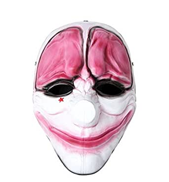 Eastop Payday2 The Clown Resin HOXTON Mask Wolf Mask Cosplay Mask