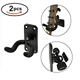 Maxfind Longboard Wall Mount Skateboard Guitar Wall Mount Skateboard Wall Carbon Steel Hanger Wall Rack