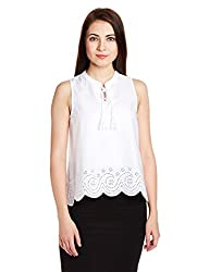 Chemistry Women's Tunic Top (C16-075WTTOP_White_Small)