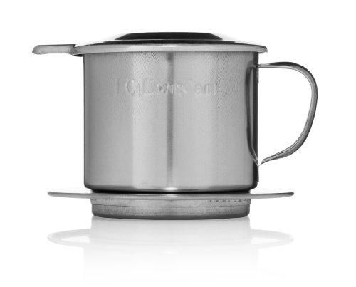 Stainless Steel (INOX) Vietnamese Coffee Filter (Phin), 8oz (240ml)