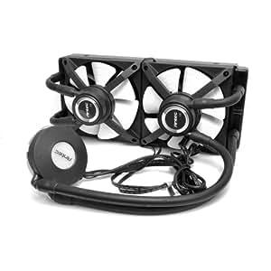 Antec H2O Kuhler 1250 Water Cooling Kit with 2xPWM Fan, 240mm Radiator LED Temp Sensor