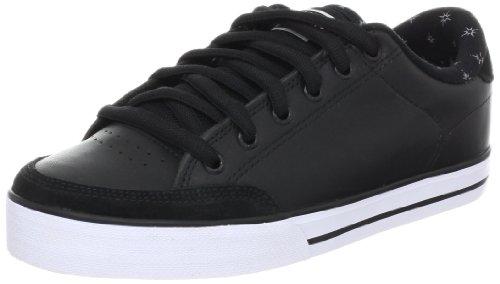 C1RCA Men's Lopez 50 Skate Shoe,Black/Black/Loser Machine,10 M US