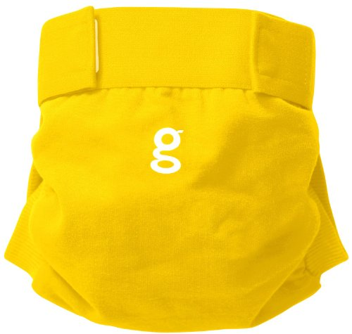 gDiapers Good Morning Sunshine Yellow Little gPant - Small - 1