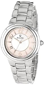 Bulova Women's 96L169 Rosedale Round Bracelet Watch