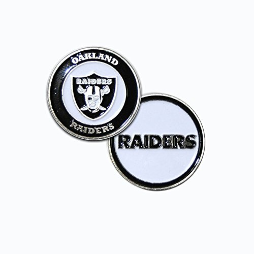 Oakland Raiders Ball Marker Set - 1