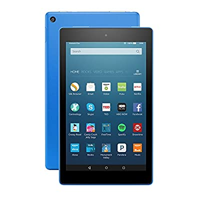 """All-New Fire HD 8 Tablet, 8"""" HD Display, Wi-Fi, 16 GB - Includes Special Offers, Blue"""
