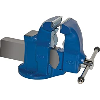 "Yost Vises 133C 5"" Combination Pipe and Bench Vise with Stationary Base, Made in US"
