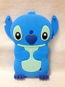 amazoncom 3d blue stitch amp lilo cute lovely soft