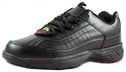 Townforst for Work Men's Slip and Oil Resistant Eamon Shoes 10.5 Black (Black Restaurant Shoes compare prices)