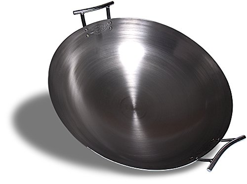 Eastman Outdoors 37208 Deep Dish Carbon Steel Wok (22-inches)