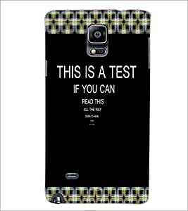 PrintDhaba Quote D-3997 Back Case Cover for SAMSUNG GALAXY NOTE 2 (Multi-Coloured)