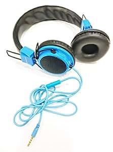 Hugo Compatible For Samsung Ativ Odyssey I930 Headphone with Mic-Blue