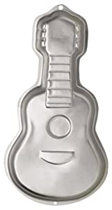 Amazon.com: Wilton Guitar Cake Pan: Novelty Cake Pans