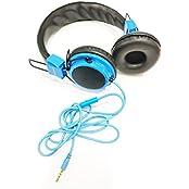 Asus Zenfone Max ZC550KL Headphone With Mic Compatible (Blue)