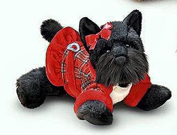 Buy Trudi the Scottie Puppy Dog Plush Stuffed Animal
