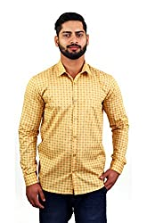 LEAF Men's Printed Casual Shirts