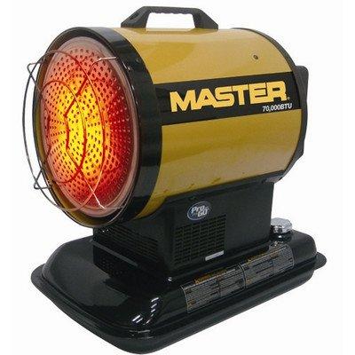 MASTER MH-70-SS 70,000 BTU Radiant Kerosene Heater