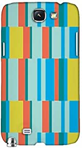 Timpax protective Armor Hard Bumper Back Case Cover. Multicolor printed on 3 Dimensional case with latest & finest graphic design art. Compatible with only Samsung Galaxy Note II N7100. Design No :TDZ-21432