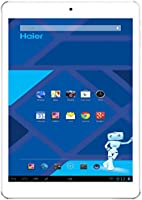 "Haier Maxi Pad 971 Tablette Tactile 9.7"" (24,6 cm) (16 Go, Android KitKat 4.4, 1 port USB 2.0, 1 Prise jack, Or/Gris)"