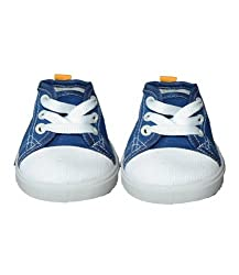 """Blue Converse Style Shoe Teddy Bear Clothes Fits Most 14"""" - 18"""" Build-a-bear, Vermont Teddy Bears, and Make Your Own Stuffed Animals"""