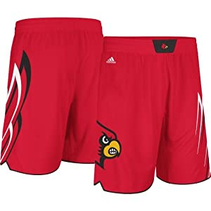 Buy adidas Louisville Cardinals Replica Red Basketball Shorts by adidas