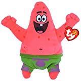 Nickelodeon Ty Beanie Babies Patrickstar Best Day Ever (Tamaño: Small)