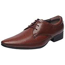 Genuine Leather Tan Formal Shoes 016