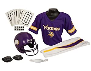 Minnesota Vikings NFL Football Deluxe Uniform Set Size Small by Unknown