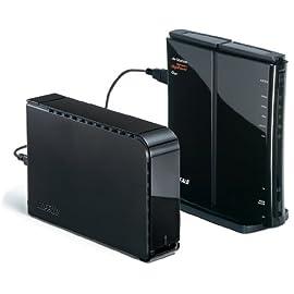 BUFFALO 11n/a&11n/g AOSS2 無線LAN親機 ケーブル2本 WZR-600DHP/V