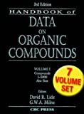 CRC Handbook of Data on Organic Compounds (0849304458) by Lide, David R.