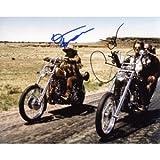 Easy-Rider-Dennis-Hopper--Peter-Fonda-Autographed-Signed-8x10-Photo-Proof-COA