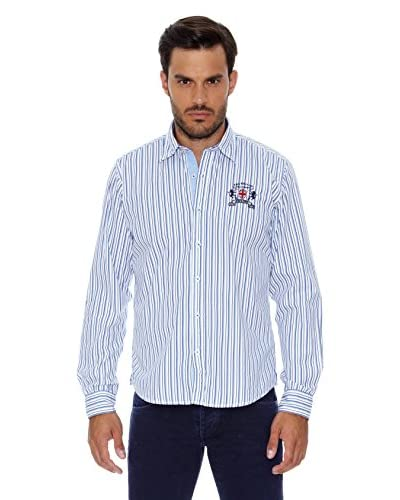 Pepe Jeans London Camicia Uomo Icard [Blu Navy]