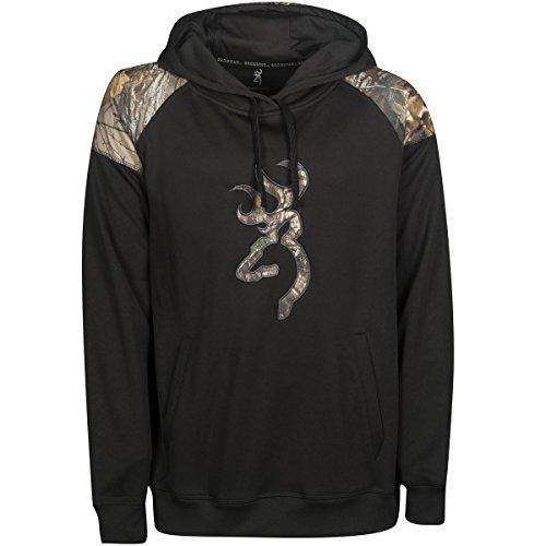 Browning Men's Gauge Sweatshirt, Color 099239 Black, Size XL