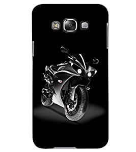 printtech Racing Bike Back Case Cover for Samsung Galaxy Grand Max G720