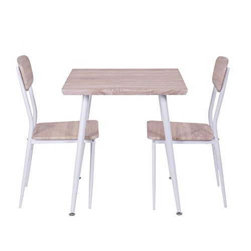 Esstischgruppe-Sitzgruppe-Holz-mit-2-Sthlen-und-Esstisch-70x70-cm