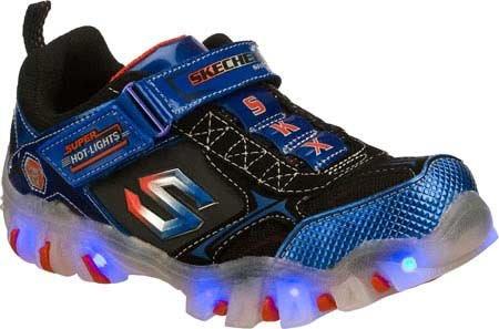 Skechers Infant/Toddler Boys' Magic Lites Street Lightz Shiftz,Blue/Black,Us 6 M front-1062634