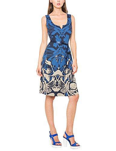 Desigual Damen A-Linie Kleid JASMINE, Knielang, Gr. 36 (Herstellergröße: M), Blau (NAVY 5000) thumbnail