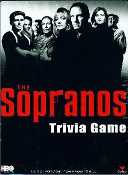 Cardinal Industries Sopranos Trivia in a Box Board Game - 1
